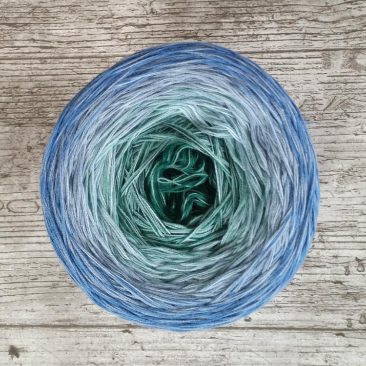 Gradient yarn organic cotton Perhentian